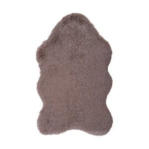 Hnědý kožešinkový koberec Floorist Soft Bear, 160x200cm