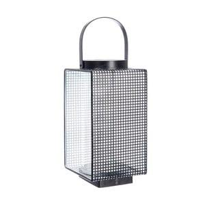 Lucerna Grid Black, 16x14x20 cm