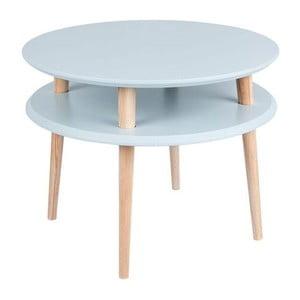 Světle šedý konferenční stolek Ragaba UFO,⌀57cm