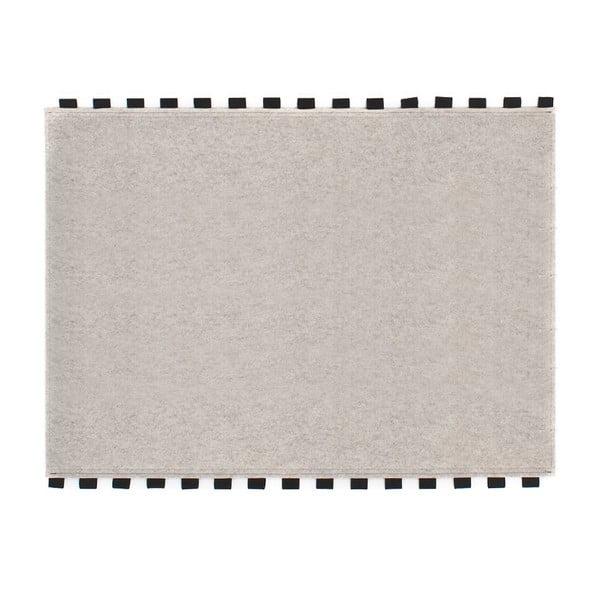 Tapperello White, koberec 120x95 cm