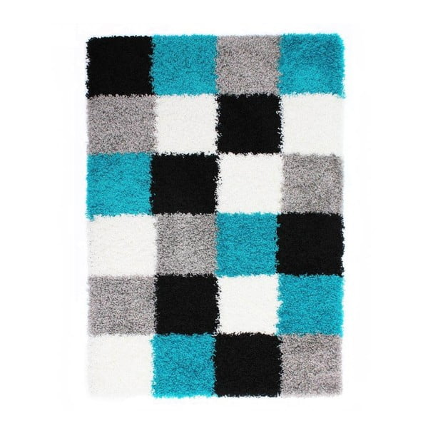 Modrý koberec Flair Rugs Andes, 120 x 170 cm