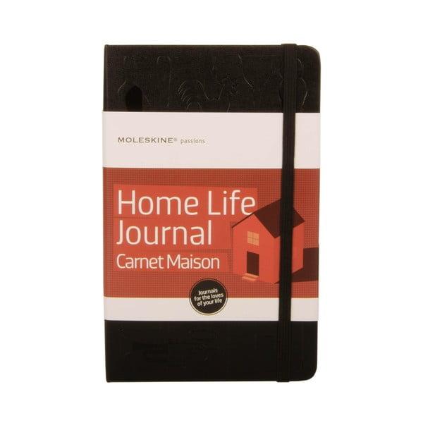 Zápisník Moleskine pro milovníky pěkného domova Passion