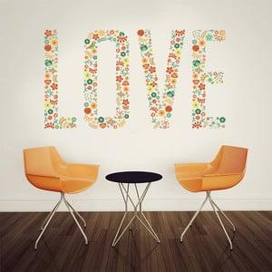 Samolepka na stěnu Love, 60x90 cm