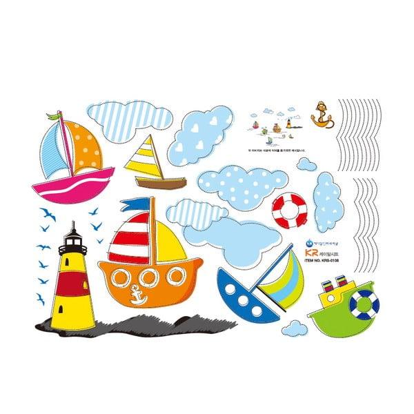 Samolepka Fanastick Sea and Boat