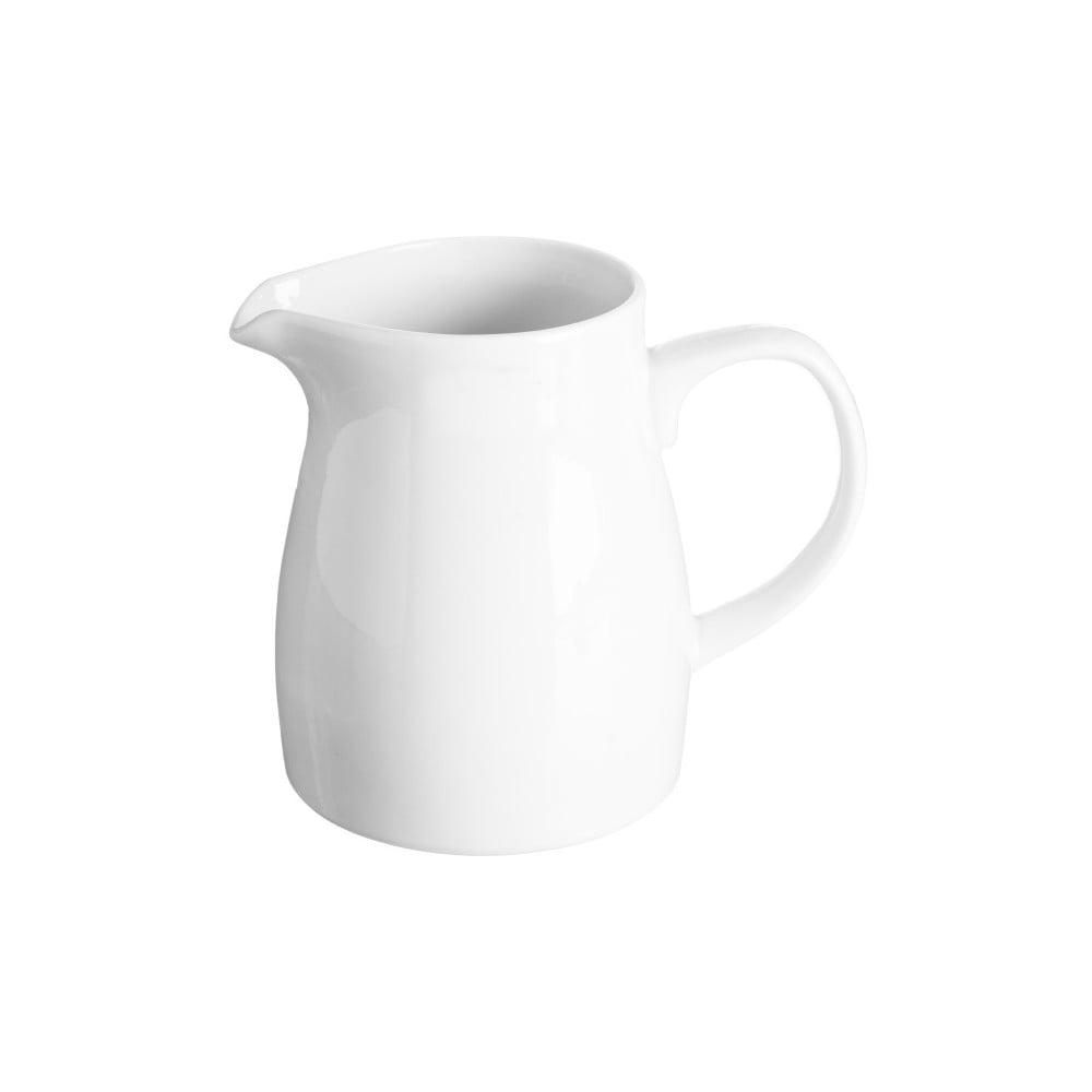 Bílá mléčněnka z porcelánu Price & Kensington,620ml