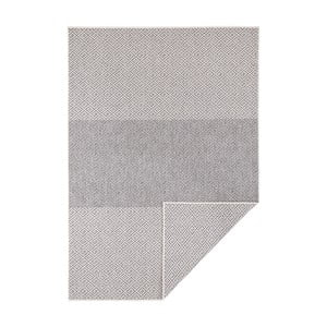 Béžový oboustranný koberec vhodný i na ven Bougari Borneo, 160 x 230 cm
