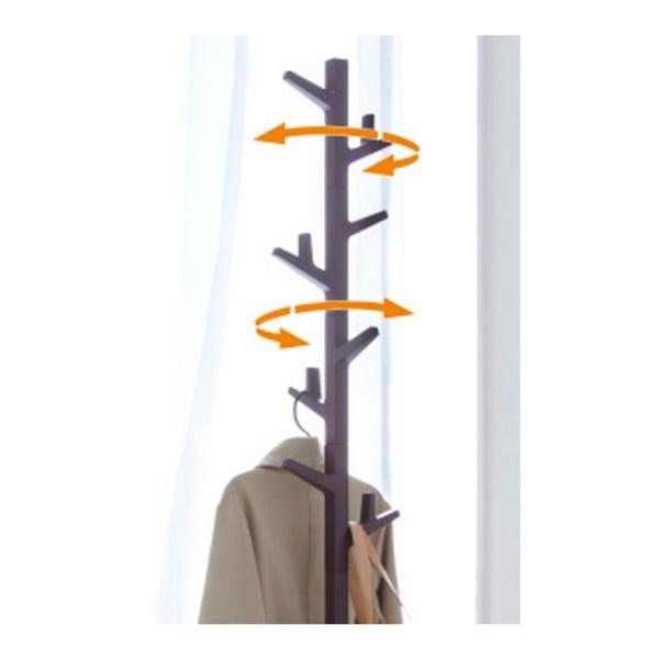 Hnědý stojací věšák YAMAZAKI Branch Pole Hanger
