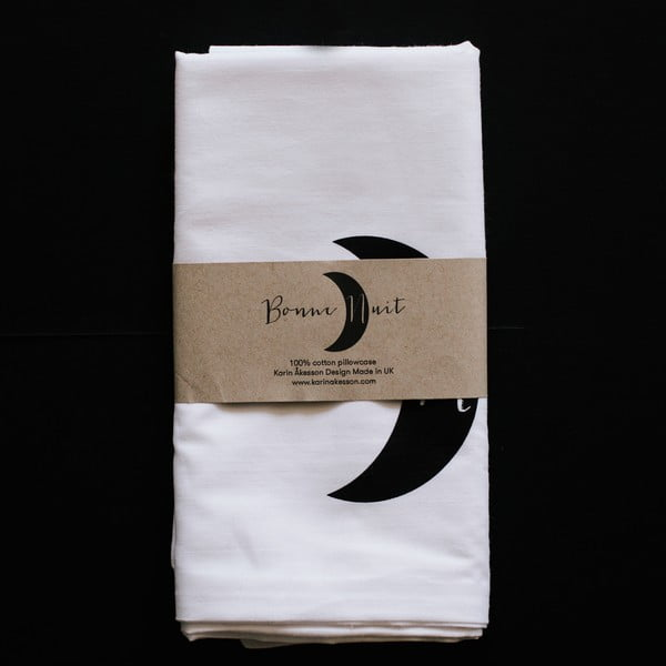Povlak na polštář Karin Åkesson Design Bonne Nuit, 52x72 cm