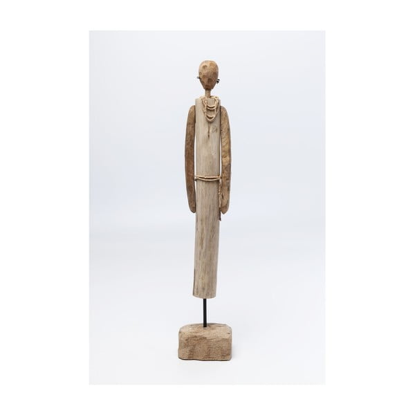 Dekorace zmangového dřeva Kare Design African Woman