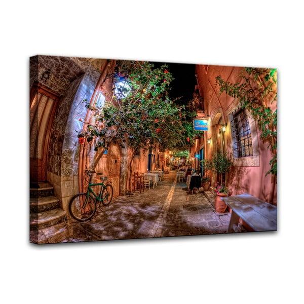 Canvas Street fali kép, 75 x 100 cm - Styler