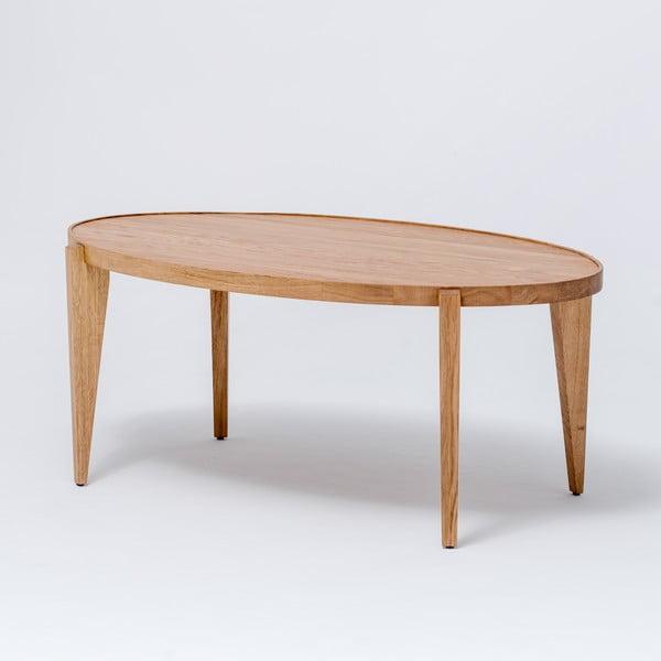Dubový kávový stolek Bontri, 120x38 cm