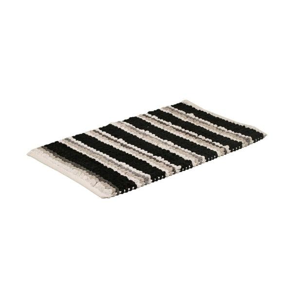 Koupelnová předložka Noir Stripe, 50x80 cm