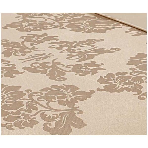 Povlečení Muller Textiel Ornaments Sand, 200x200cm