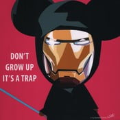 Obraz Don't grow up it's a trap