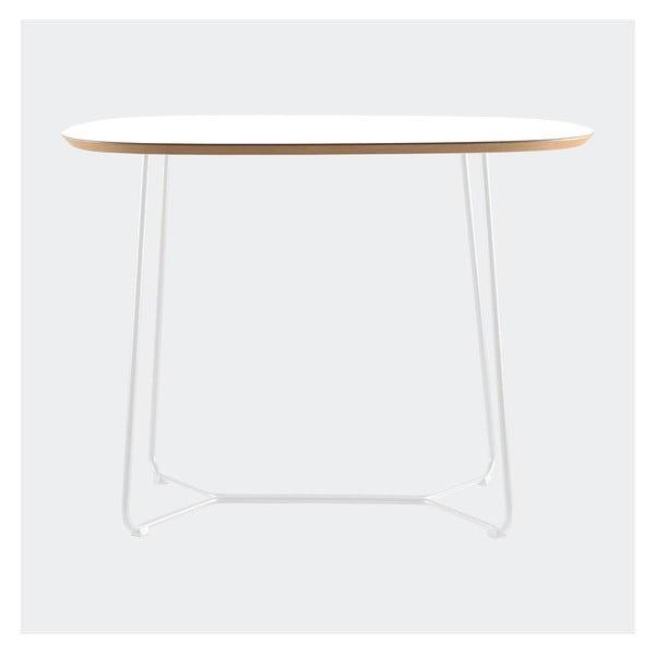 Stůl Maple menší, bílý