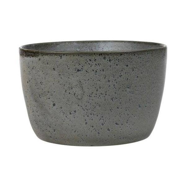 Sivá kameninová servírovacia misa Bitz Mensa, priemer 20 cm