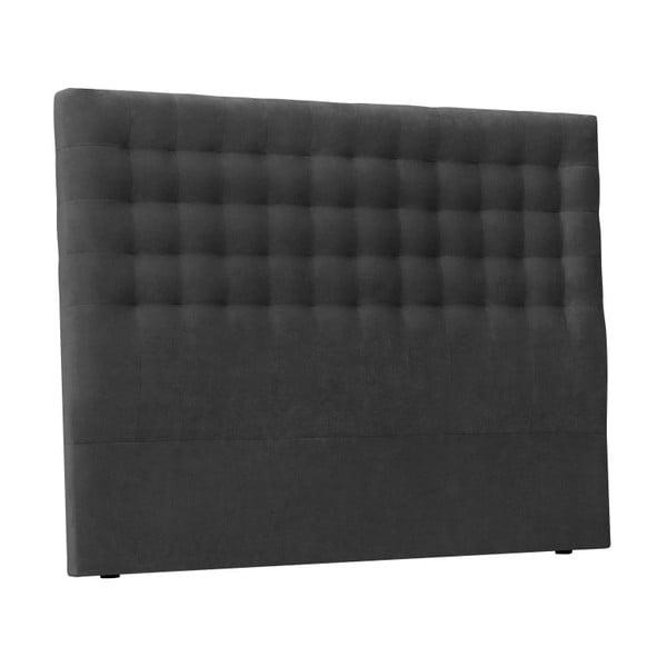 Tmavě šedé čelo postele Windsor & Co Sofas Nova, 140 x 120 cm