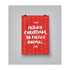 Poster Americanflat Animal, 30 x 42 cm