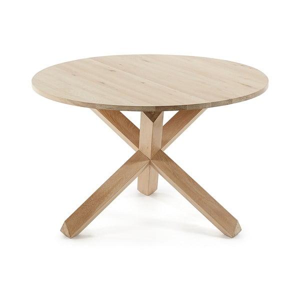 Stůl z dubového dřeva La Forma Nori, ø 120 cm