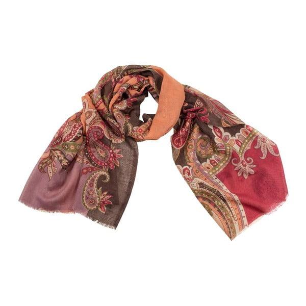 Vlněný šátek Shirin Sehan - Vanessa Choco