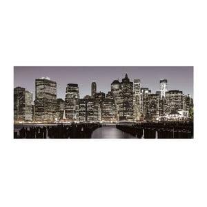 Skleněný obraz New York Skyline 50x125 cm