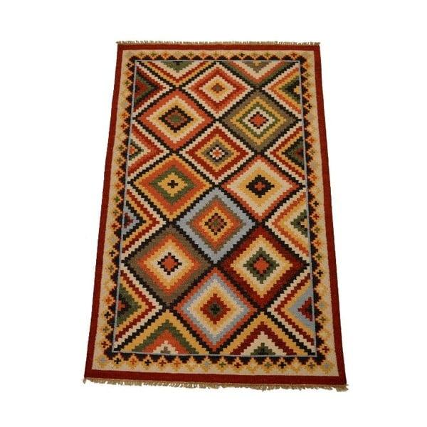 Vlněný koberec Kilim 150x250 cm