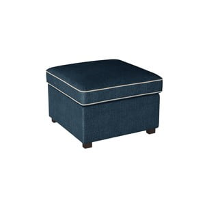Modrá podnožka s krémovými lemy Rodier Organdi