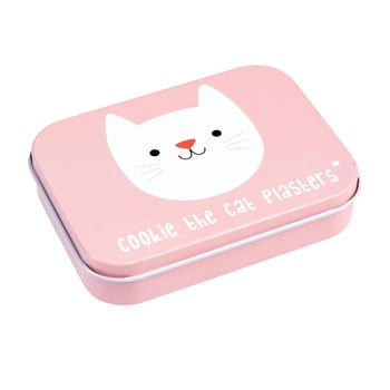 Cutie cu plasturi Rex London Cookie the Cat, roz imagine