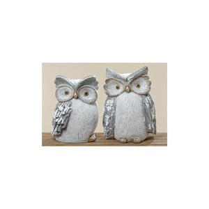 Sada 2 dekorativních objektů Owl Biggy