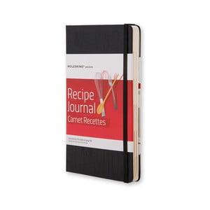 Notes na recepty Moleskine, černý