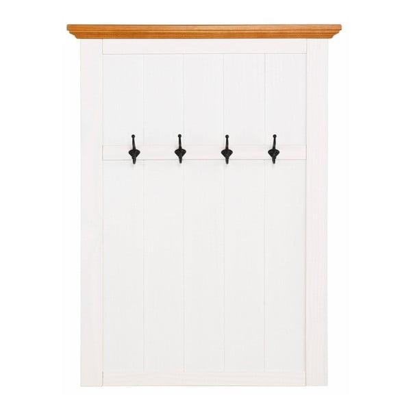 Monty fehér fenyő fali ruhaakasztó - Støraa