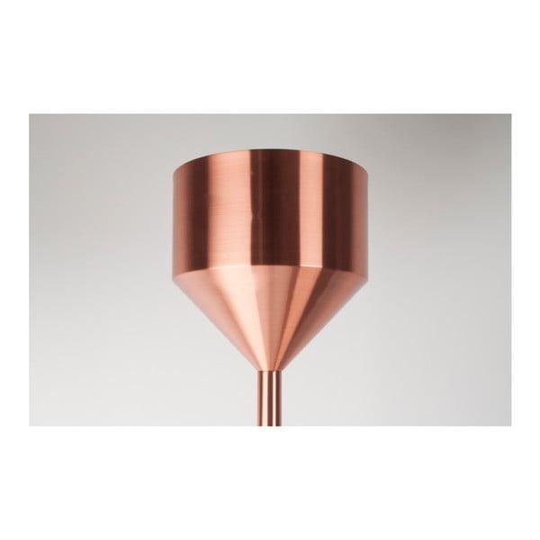 Stojací lampa v měděné barvě Zuiver Bow