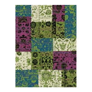 Covor Hanse Home Prime Pile, 60 x 110 cm, verde - violet