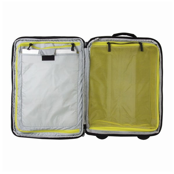 Cestovní kufr Track Jack Board, černý