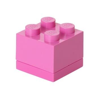 Cutie depozitare LEGO® Mini Box II, roz de la LEGO®