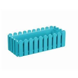 Květináč Window Turquoise, 50x20x16 cm