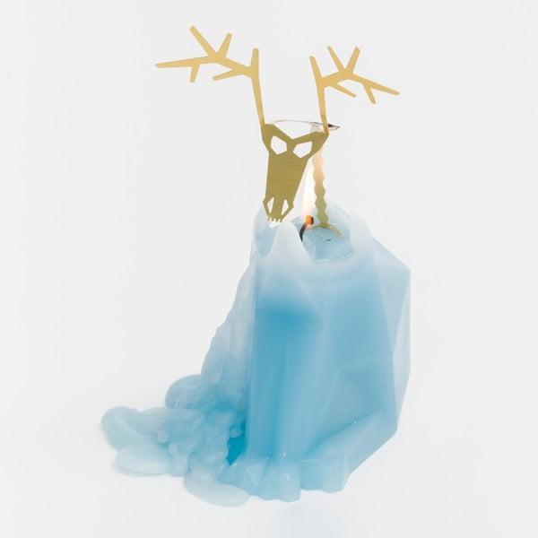 Modrá svíčka Pyropet Dýri