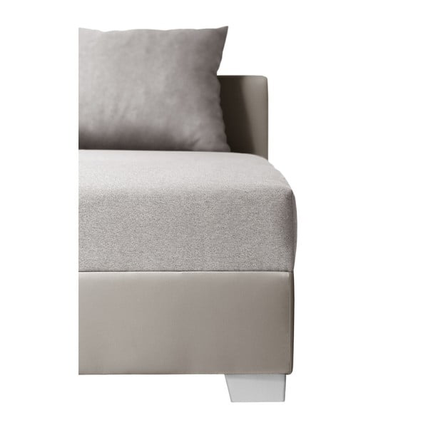 Colțar cu pat pe partea dreaptă Interieur De Famille Paris Aventure, maro gri