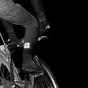 Reflexní cyklistické ponožky Suck UK Biker Socks