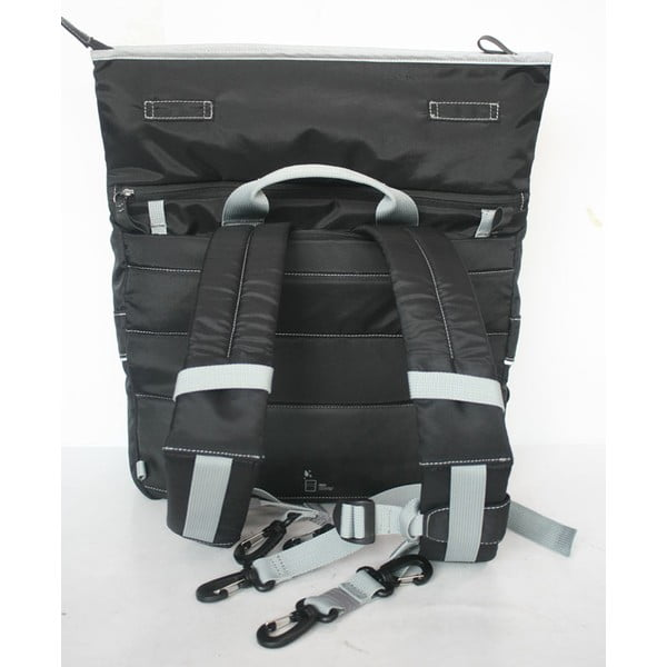 Taška/batoh Slim Case TUbí, černá/šedá