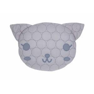 Bavlněný polštář s motivem kočky Nattiot, 35 x 40 cm