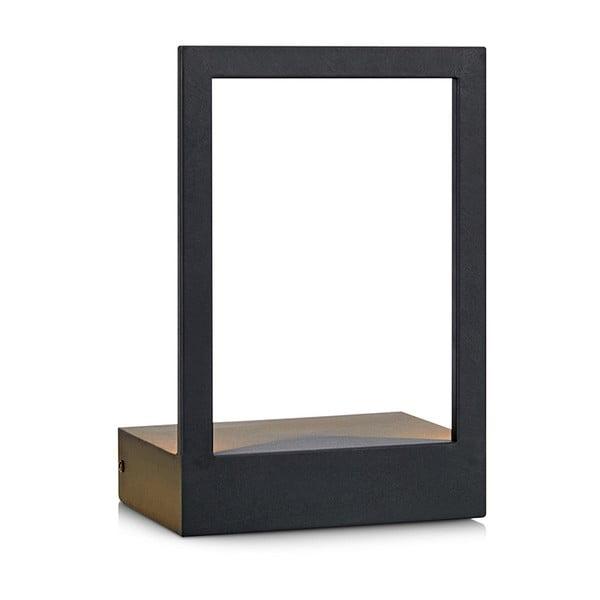 Čierne nástenné LED svietidlo Markslöjd Pablo