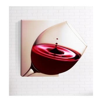 Tablou de perete 3D Mosticx Wine, 40 x 60 cm