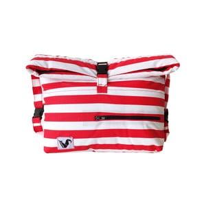 Plážová taška Origama Red Stripes