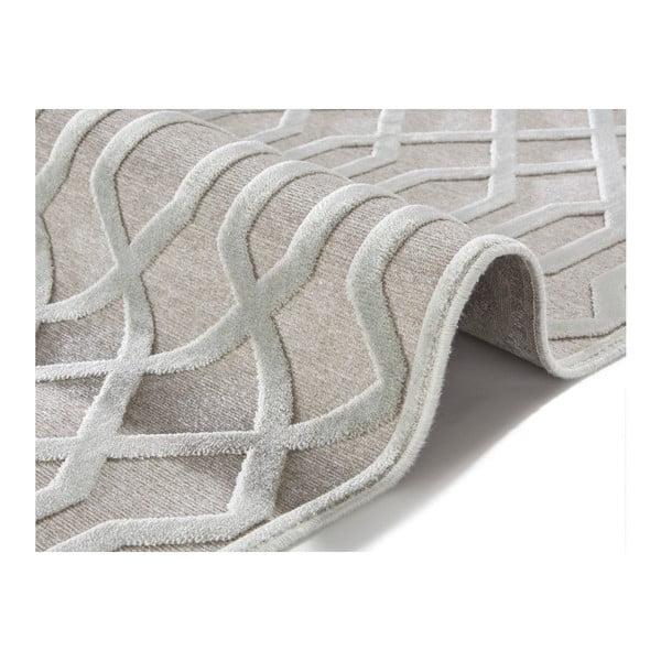 Šedý koberec Mint Rugs Shine Karro, 120 x 170 cm