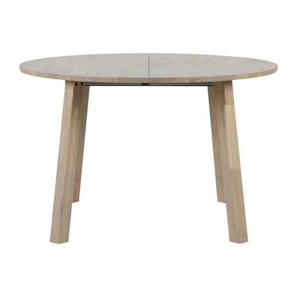 Rozkladací jedálenský stôl WOOOD Lange, ⌀ 120 cm
