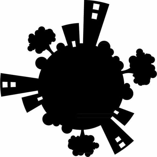 Samolepka Planet for Plug