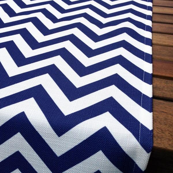 Běhoun na stůl Blue Chevron