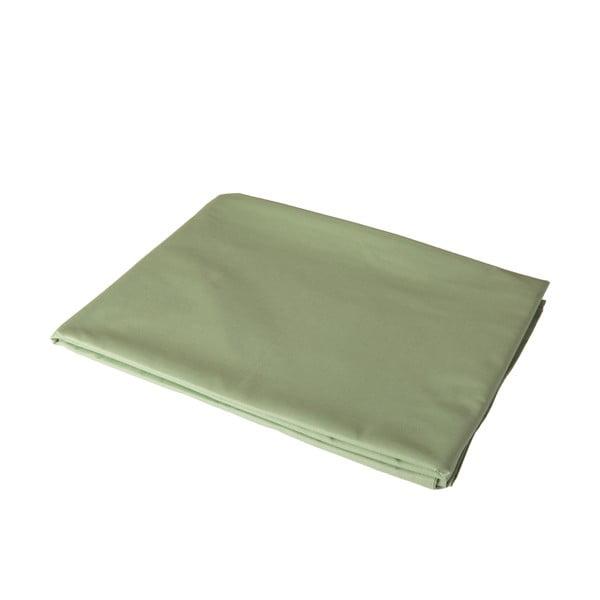 Zelené elastické prostěradlo na jednolůžko Bella Maison Basic, 100 x 200 cm