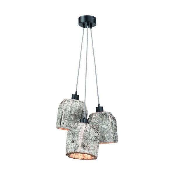 Závěsné svítidlo z březového dřeva Citylights Aspen Triple